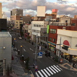 昭和通り風景